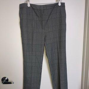 🆕 Zara Plaid Work Pants